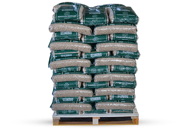 6 mm wood pellets